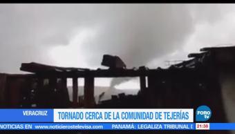 noticias, forotv, Captan, potente, tornado, Veracruz
