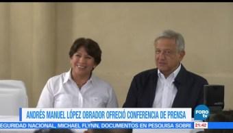 noticias, forotv, AMLO, asegura, defenderá triunfo, Delfina Gómez