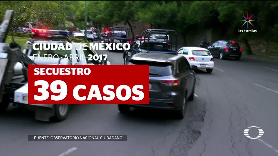 noticiasl televisa, Se disparan, delitos, alto impacto, CDMX