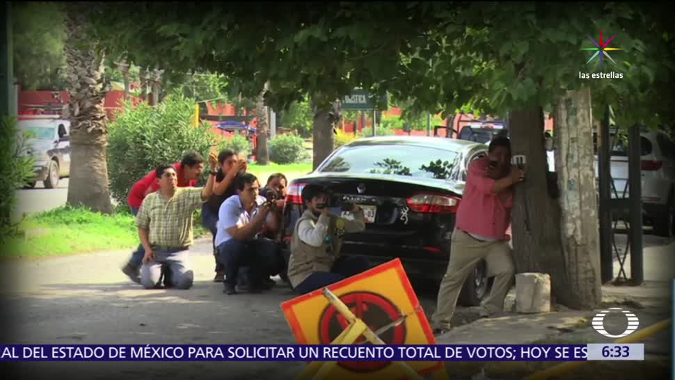 policías, custodio, balacera, interior del penal, Ciudad Victoria, Tamaulipas