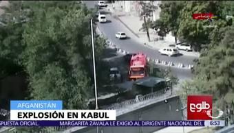Cámaras de seguridad, momento exacto, explosión, muertos, Kabul