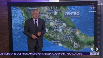 alta presión, República Mexicana, temperaturas, 21 estados