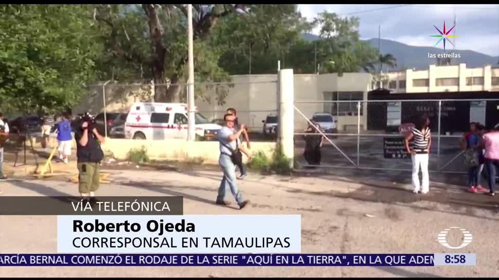 Policías ministeriales, ingresan al penal, Ciudad Victoria, Tamaulipas, nuevas detonaciones