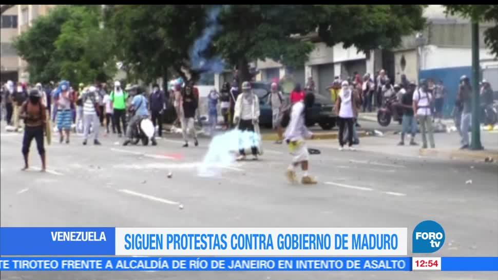 Venezuela opositores, Nicolás Maduro, fuerzas de seguridad, manifestantes