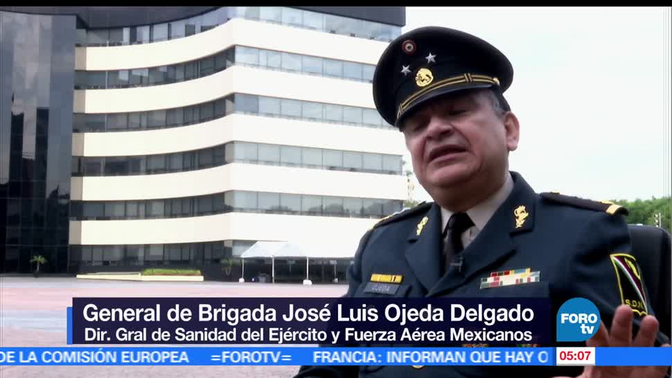 Ciudad de México, Primer Congreso Internacional, Medicina Militar, destacados especialistas, milicia