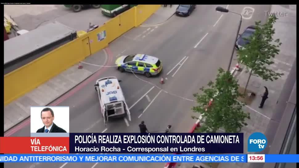noticias, forotv, Policía, Londres, explosión controlada, embajada de EU