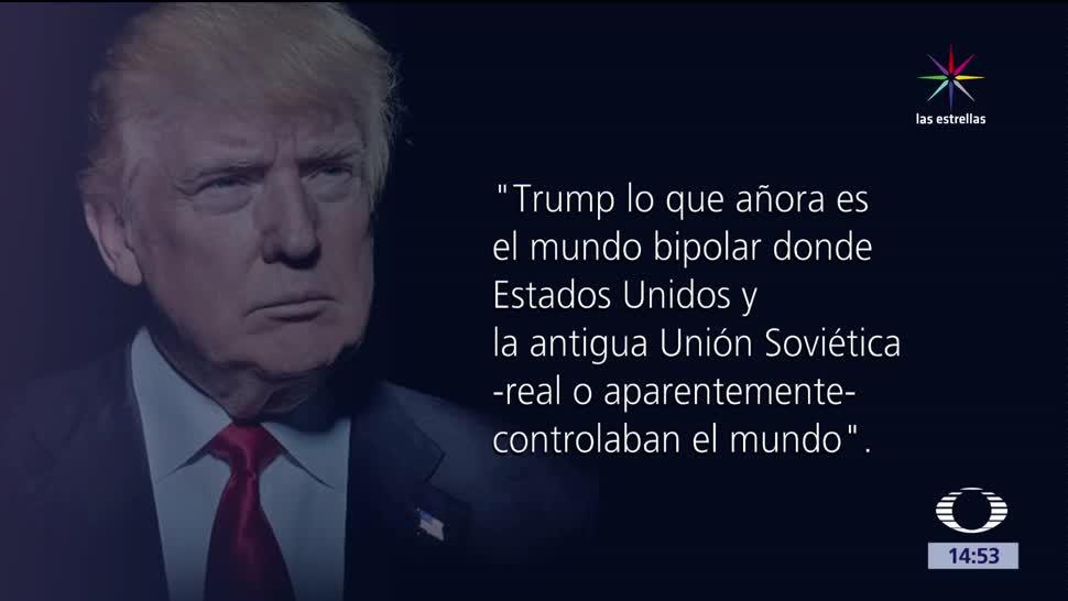noticias, televisa, La política, internacional, Trump, Mario Aguirre