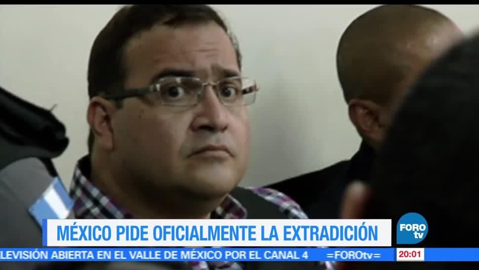 México, pide, Guatemala, extradición de Duarte, corrupción, Veracruz