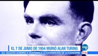 Efeméride, En Una Hora, Alan, Turing, historia, informática