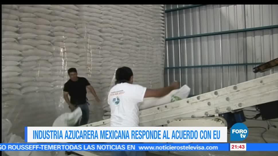 Azucareros, mexicanos, se pronuncian, acuerdo, Estados Unidos, comercio internacional