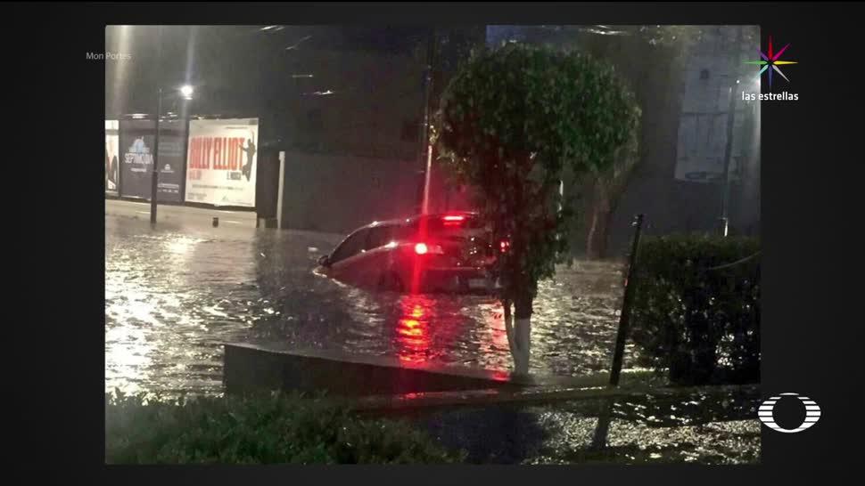Tormenta, Ciudad de México, CDMX, delegaciones, afectadas, inundaciones