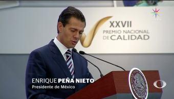 presidente EPN, habla, final, sexenio, Peña, Presidencia México