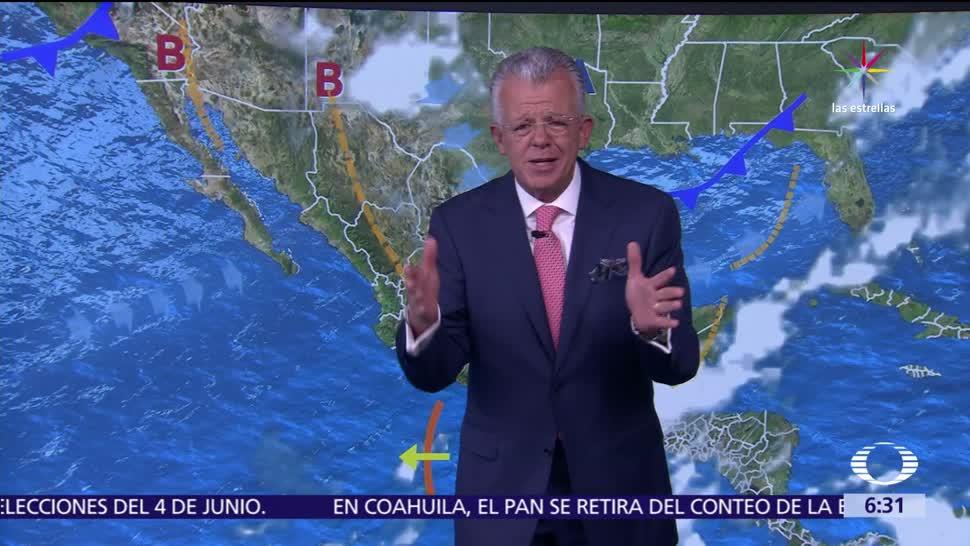 lluvias, intensidad, México, onda tropical
