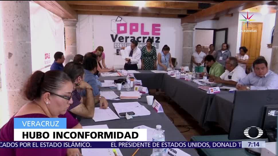 incendian paquetería electoral, Zaragoza, Veracruz, municipios, recuento total de votos
