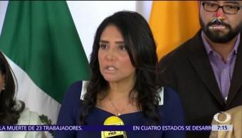 Alejandra Barrales, líder nacional del PRD, Morena, elección presidencial del 2018