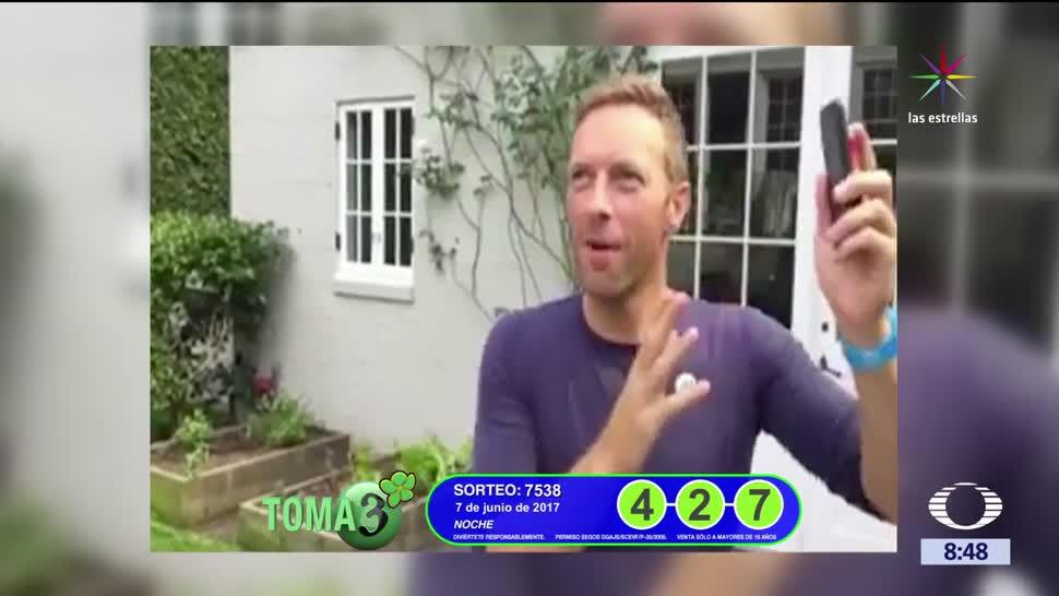 Chris Martin, vocalista de Coldplay, participación de Shakira Global Citizen, Hamburgo