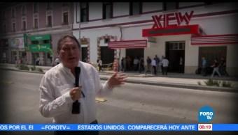 maestro, Armando Ramírez, recorrer, calle de Luis Moya