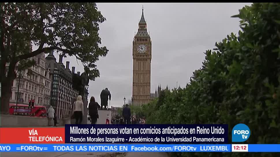 Ramón Morales Izaguirre, Universidad Panamericana, influencia del terrorismo, elecciones de Reino Unido