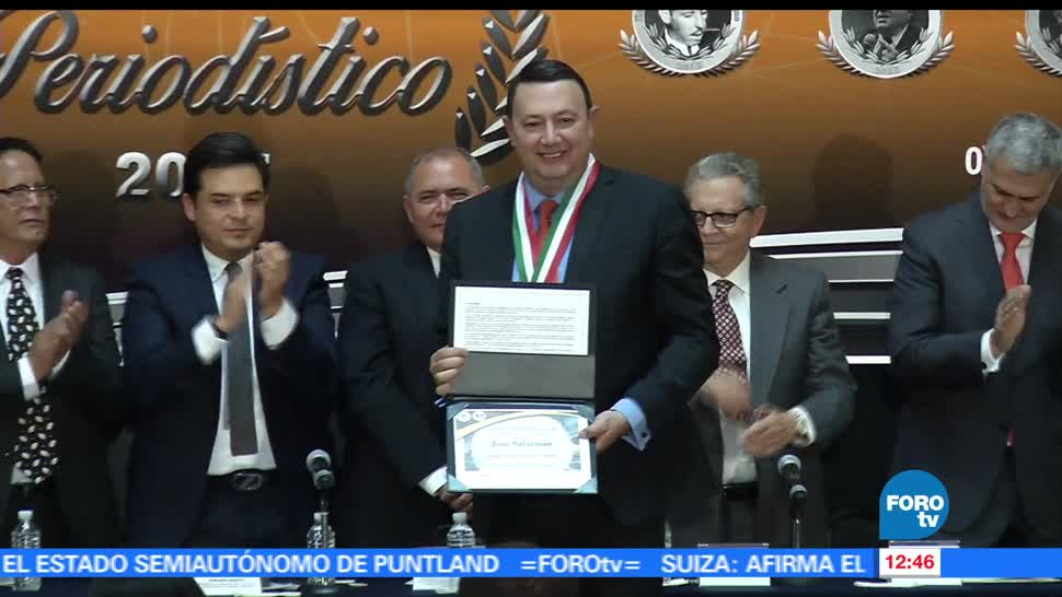 noticias, forotv, Senado, entrega, medallas, Mérito Periodístico 2017