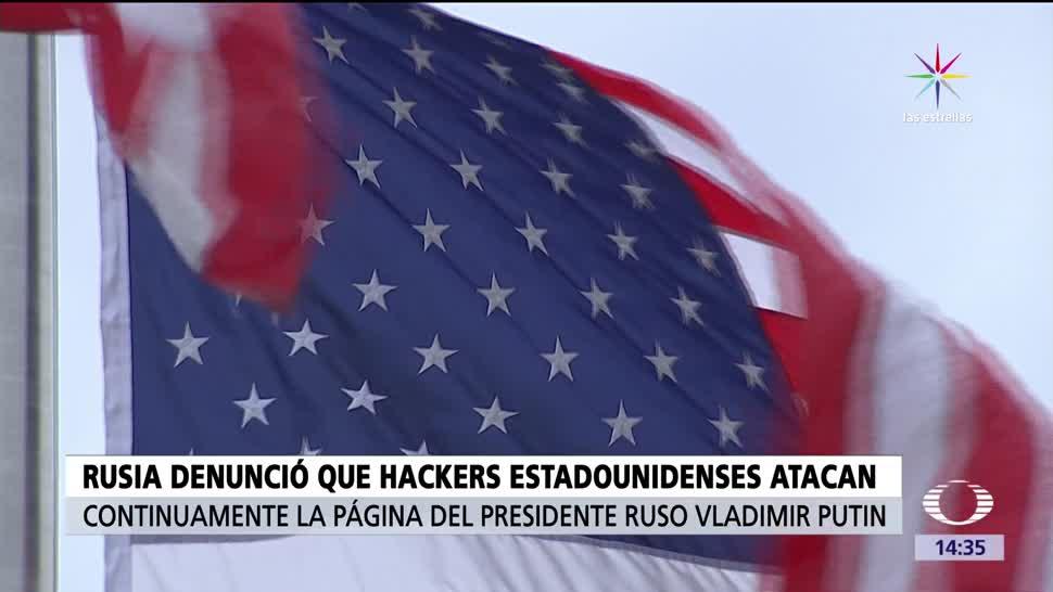 noticias, televisa, Rusia, denuncia, hackers, sito web de Putin