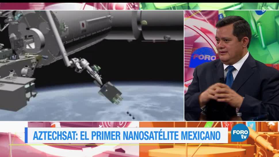 noticias, forotv, El Aztech Sat, nanosatélite mexicano, UPAEP, NASA