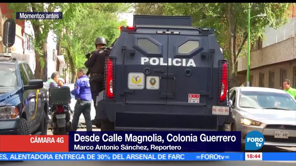Balacera, colonia Guerrero, CDMX, un muerto, tiroteo, ciudad de méxico