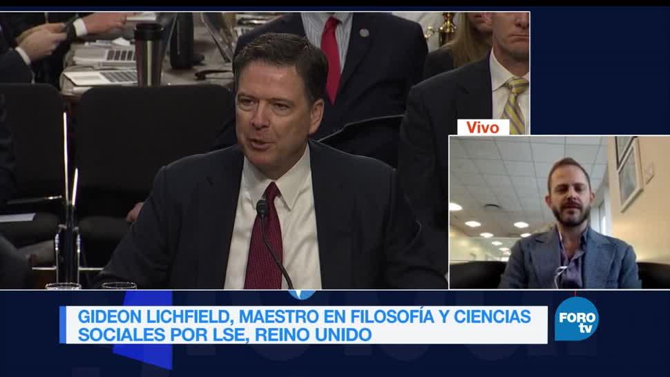 Genaro Lozano, entrevista, Gideon, Lichfield, james comey, fbi