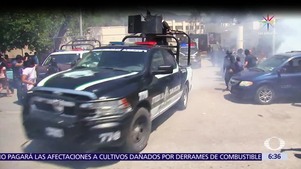penal, Ciudad Victoria, Noticieros Televisa, entra
