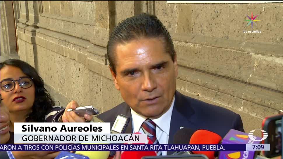 Silvano Aureoles, reitera interés, presidencial, PRD