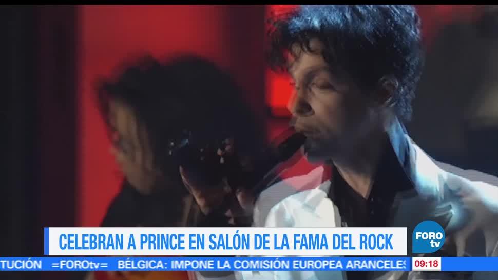 LoEspectaculardeME, Celebran a Prince, Salón de la Fama, Rock