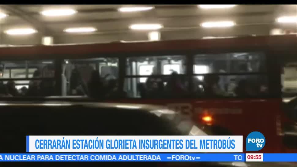 Extra Extra, Cerrarán, estación, Glorieta Insurgentes,