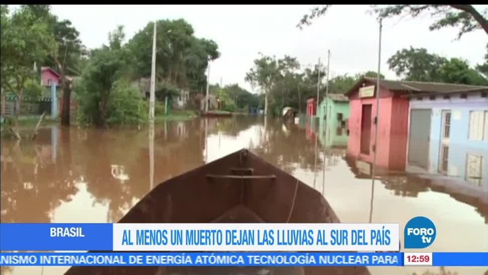 Fuertes, lluvias, Brasil, persona muerta