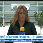 noticias, forotv, Concluye, cómputo distrital, votos, Estado de México