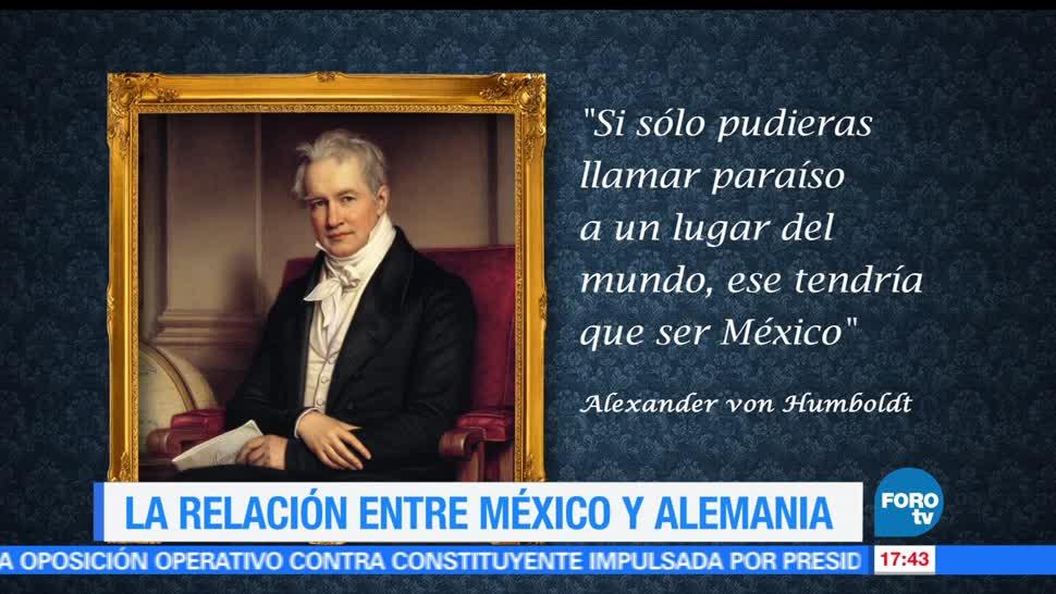 noticias, forotv, relación, México-Alemania, Siglo XIX, acuerdos económicos