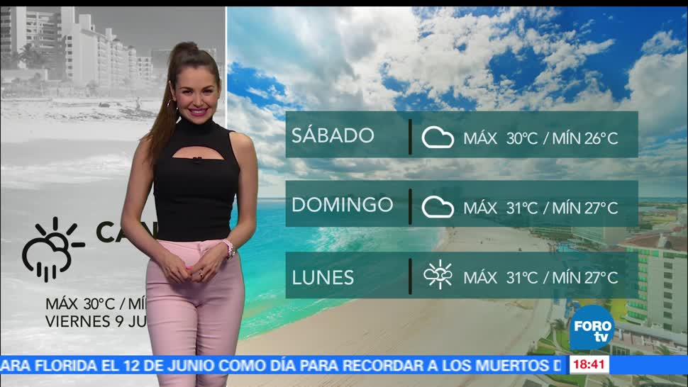 noticias, forotv, El clima, clima, Mayte Carranco, lluvias