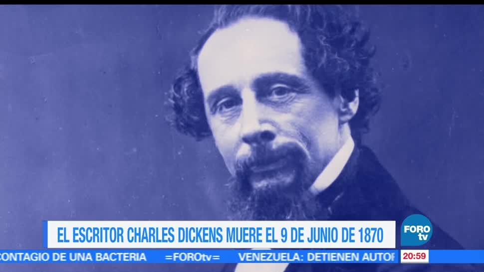 Efeméride, En Una Hora, Charles, Dickens, historia, cultura