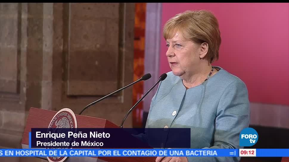 Merkel, canciller alemana, sociedad civil , México