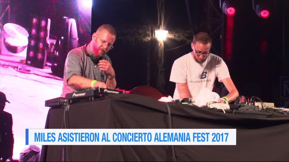 Miles, concierto, Alemania Fest 2017, personas