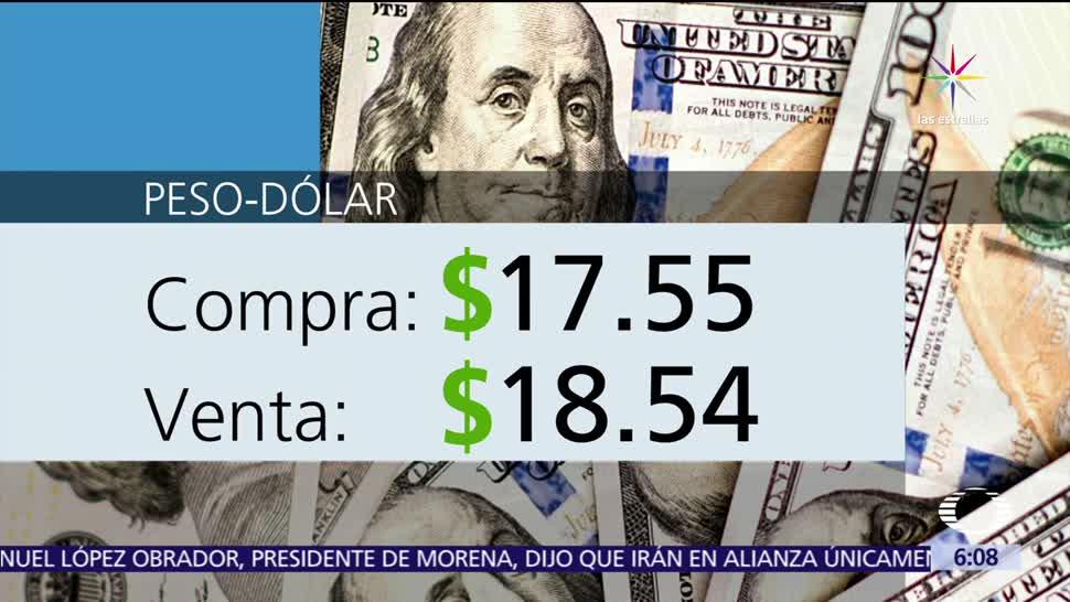 dólar, casas de cambio, Aeropuerto de la Ciudad de México, 17.55