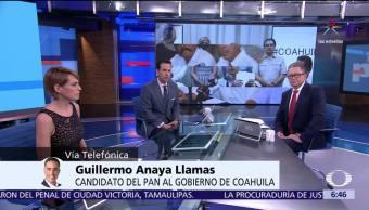 Guillermo Anaya, candidato del PAN, gobierno de Coahuila, Coahuila, Tribunal Electoral