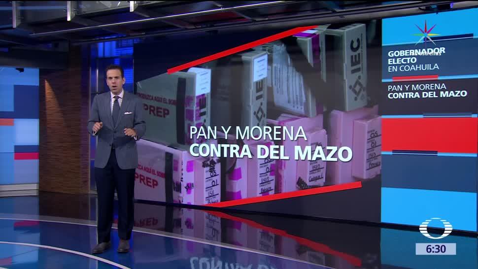 Delfina Gómez, Alfredo del Mazo, Guillermo Anaya, Miguel Riquelme, elecciones, Vicente Fox