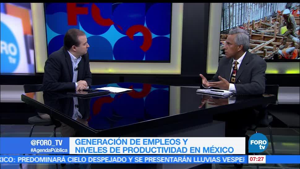 Pedro Tello, temas económicos, generación de empleos, niveles de productividad