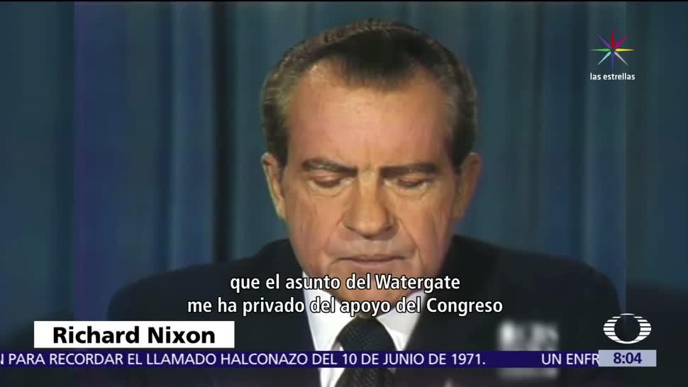 James Comey, Donald Trump, Casa Blanca, caso Watergate, Nixon
