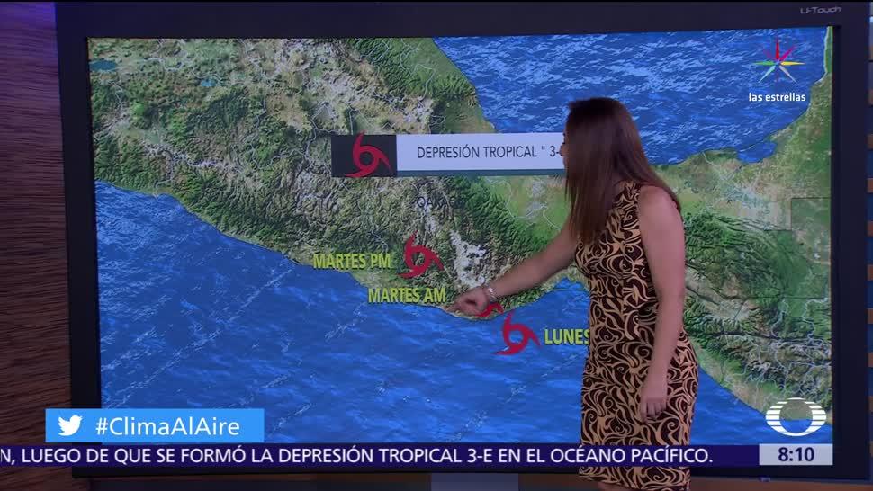 vientos fuertes, rachas superiores, México, depresión tropical 3-E