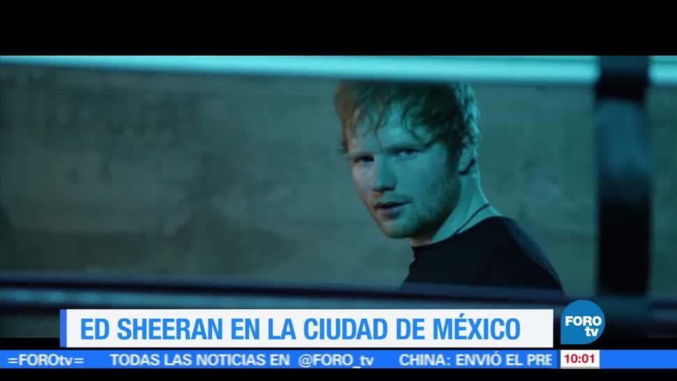 Ed Sheeran, 21 mil espectadores, Palacio de los Deportes, Ciudad de México