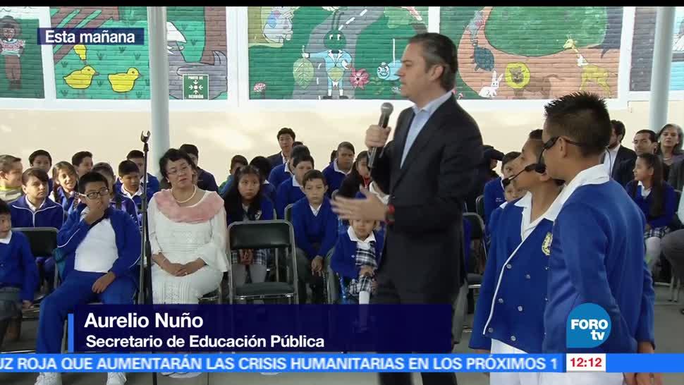secretario de Educación Pública, Aurelio Nuño, primaria, delegación Álvaro Obregón