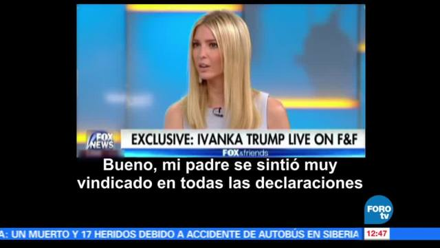 Ivanka Trump, comparecencia, Congreso, FBI, James Comey
