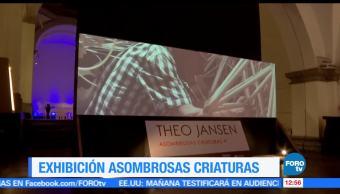 artista plástico, Theo Jansen, criaturas asombrosas, Laboratorio Arte Alameda, Ciudad de México