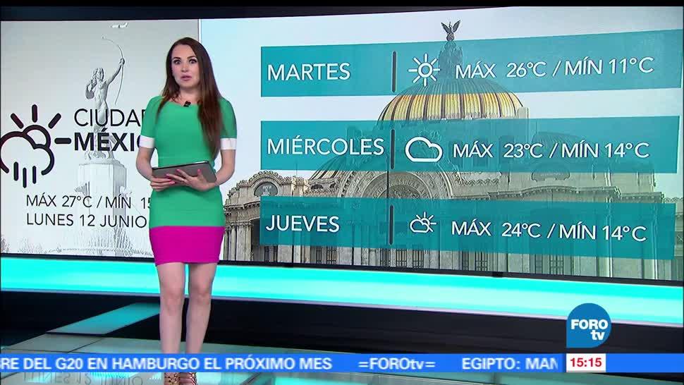 El clima, Mayte Carranco, depresión tropical, 3-E