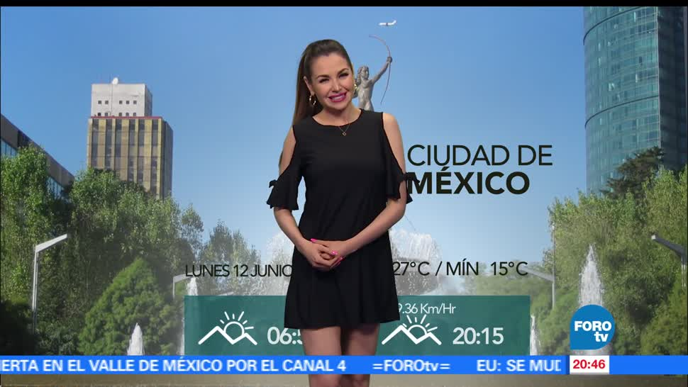 noticias, forotv, clima, Mayte Carranco, el clima, calvin
